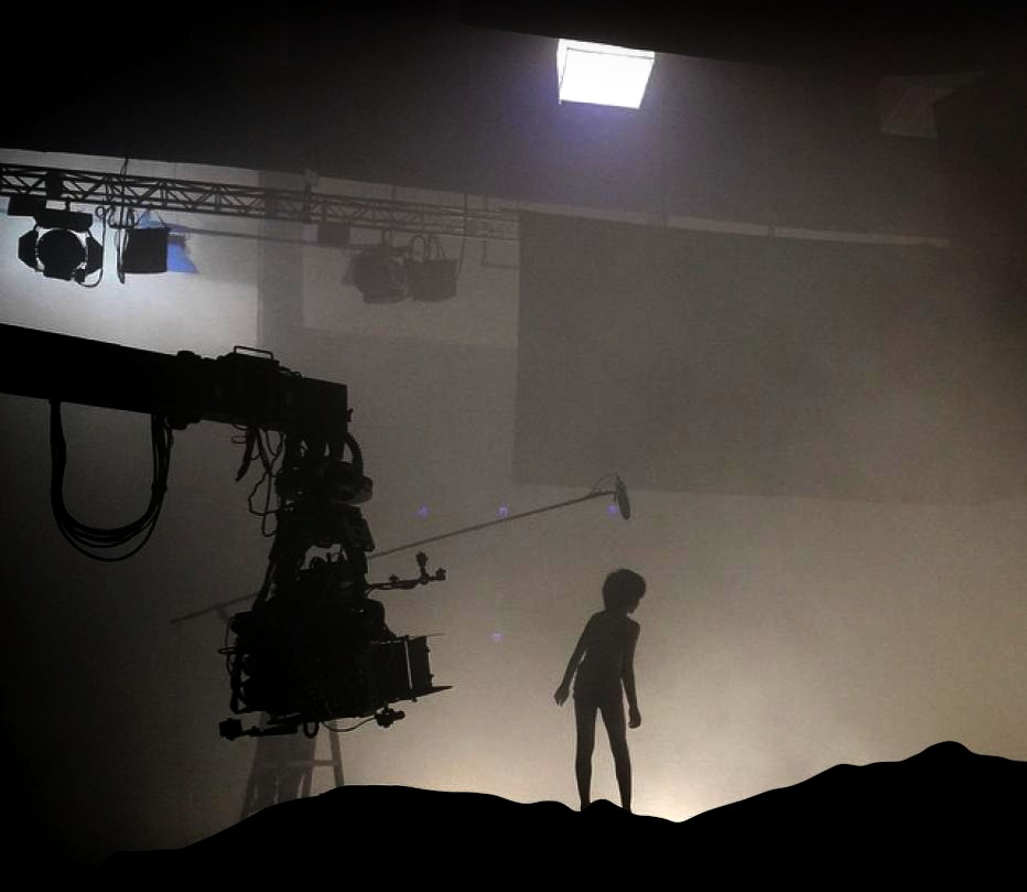 OptiTrack Motion Capture system on a film set.